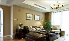 大气华丽两居室住宅 美式风格小户型