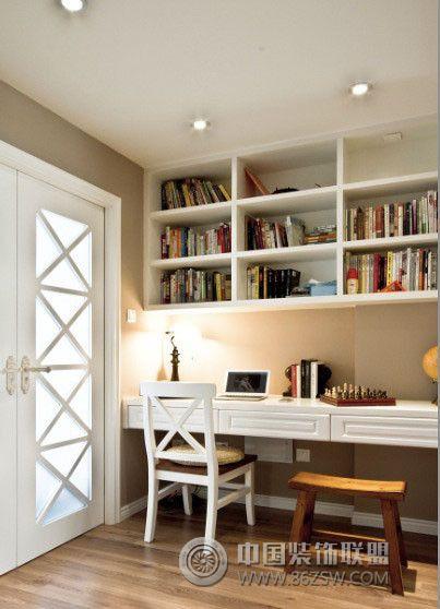大气华丽两居室住宅 美式风格小户型 过道装修效果图