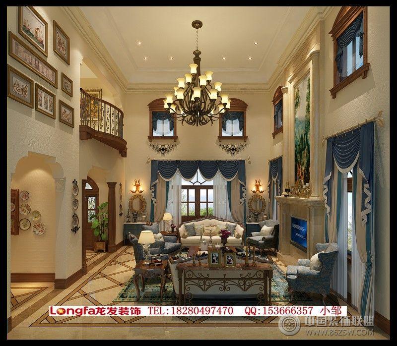 建发浅水湾欧式客厅装修图片