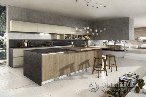 开放式厨房设计案例厨房装修图片