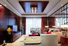 中式古典装修效果图 绝美背景墙设计