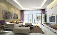 效果图现代风格二居室