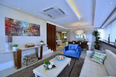 清爽蓝色调家居 营造愉悦有活力的氛围