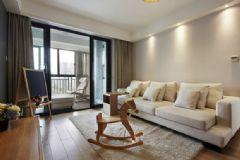 最省钱的装修 97平米现代简约风住宅