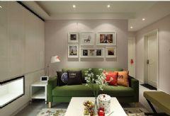 89平米清新小三房 宜家与现代风格混搭