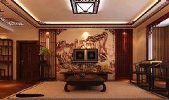 东亚国际城142平·中式风格的独特魅力中式风格三居室