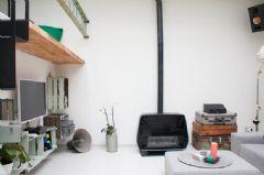 开放式loft设计 明亮现代酷感十足的家