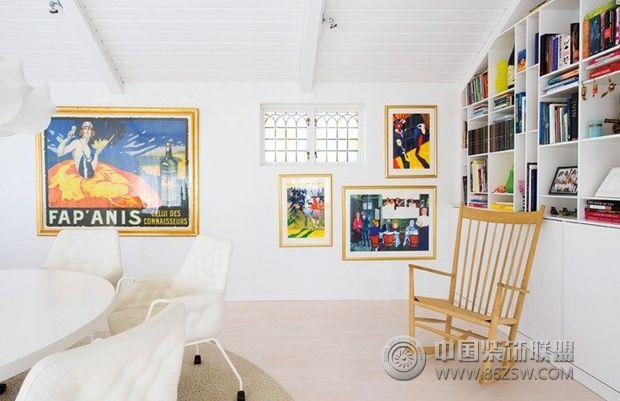 欧式装修效果图 88平瑞典简欧公寓