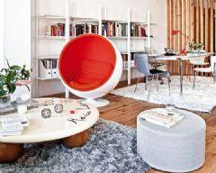 西班牙甜蜜复式公寓 自然清新的设计