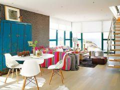 200平米美式复式 海边彩色阳光美房