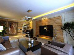 140平亚洲城·感受现代风格的温柔气息现代风格三居室