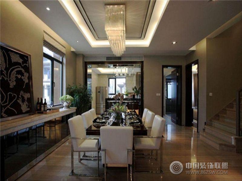 半山爱马仕后现代风格别墅 餐厅装修效果图 八六 中国 装饰联盟装修效