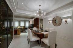 成都尚层装饰城南逸家别墅装修美式古典风格美式风格别墅