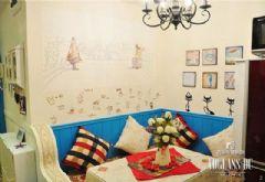 凤凰城里的时尚青年地中海风格三居室