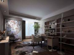 成都尚层装饰绿地锦天府别墅装修现代简约风格现代简约风格别墅