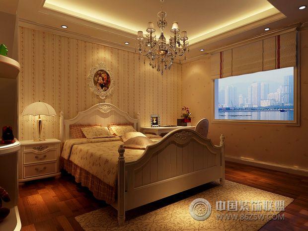 奢华大气欧式风住宅 凸显高贵典雅气质欧式卧室装修