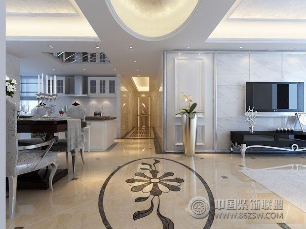 奢华大气欧式风住宅 凸显高贵典雅气质-客厅装修效果