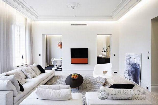 现代简约风格公寓设计
