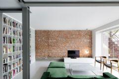清新绿色 法国极简约公寓设计