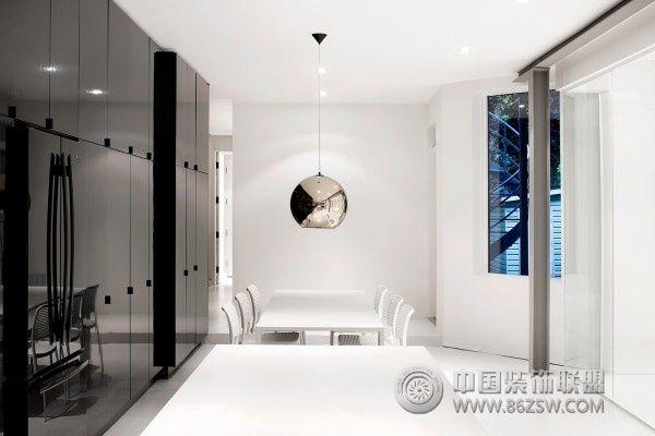 法国极简约公寓设计-餐厅装修效果图-八六