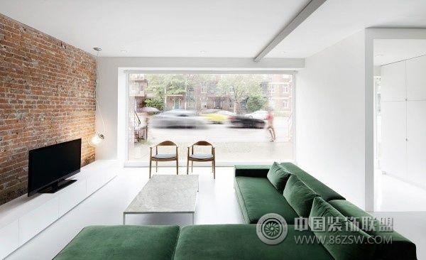 法国极简约公寓设计-书房装修效果图-八六