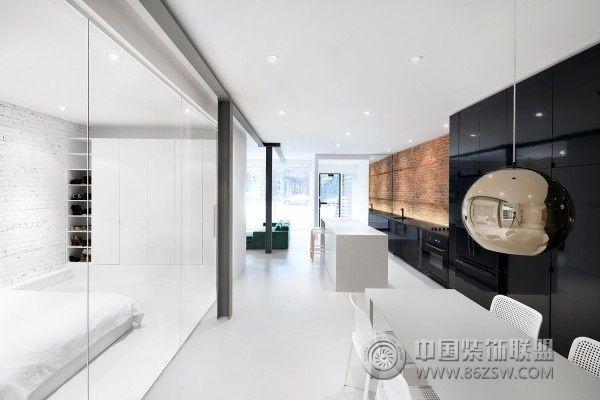 法国极简约公寓设计简约餐厅装修图片