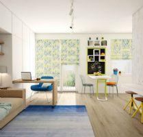 30平米超小户型空间设计 通透淡雅的家