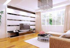 翠屏湾现代风格二居室