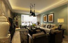 碧桂园银河城130平·感受新中式的古雅气息中式风格三居室