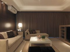 现代时尚生活空间 浪漫典雅咖啡色住宅