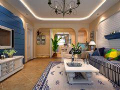 浪漫唯美地中海风住宅 充满爱的空间