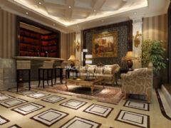 天津別墅設計案例-新裝飾主義風格 享受其樂融融高品質生活