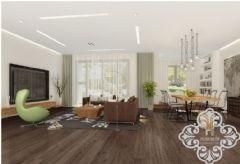 金地紫云庭250平米_天津尚层设计师现代风格大户型
