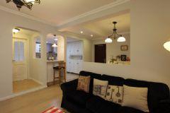 95平现代美式家 充分利用每一寸空间