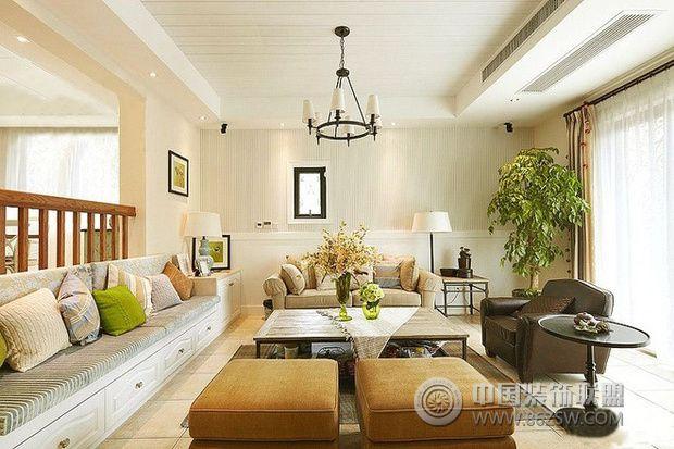现代舒适田园风格住宅 自然清新复式家-卧室装修图片   > 现