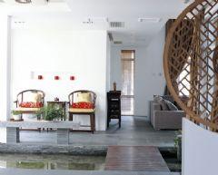 成都尚层装饰别墅装修新中式风格案例中式风格别墅