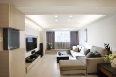 98平米简约风格三居室 明亮清爽之家
