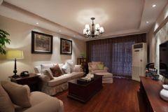 140平现代小资住宅 雅致素净的美式风