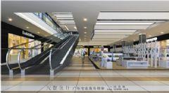 大型商场内部效果图5张下载