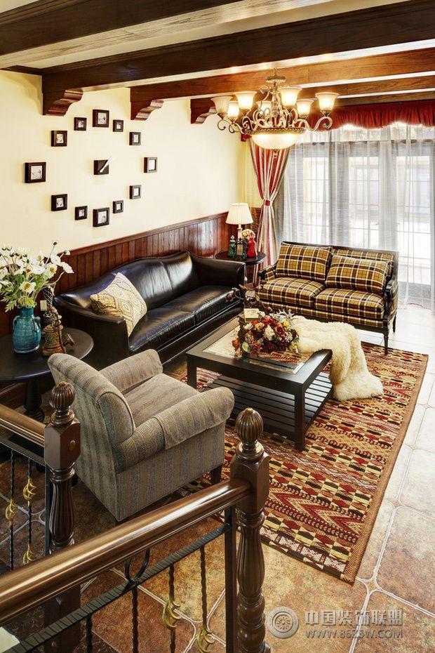 家装客厅沙发摆放装修效果图