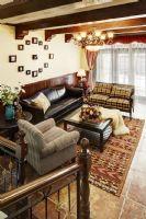传统美式乡村风公寓 华丽复古的气质