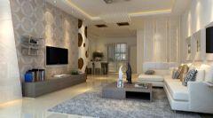花山新城简约风格现代风格二居室