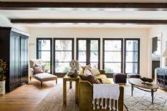 原木色的质朴空间 添加一抹清新绿色