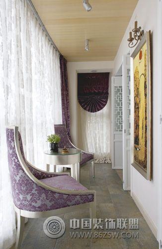 成都尚层装饰别墅装修混搭风格案例展示