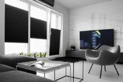 简约时尚黑白灰公寓 搭配永恒的经典