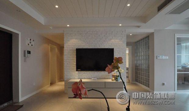 极简两居室 别具一格的设计欧式风格客厅装修效果图