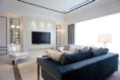 简欧风格样板房设计 明亮宽敞的住宅
