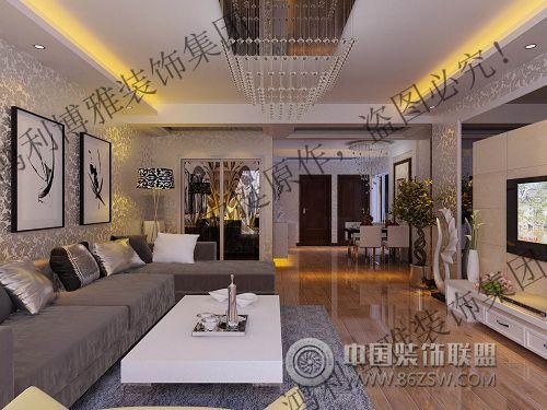 高档大气别墅现代客厅装修图片