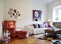 46平温馨单身公寓 随意舒适的森女之家