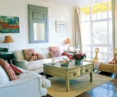 100平明亮舒适两居室 充分利用自然光